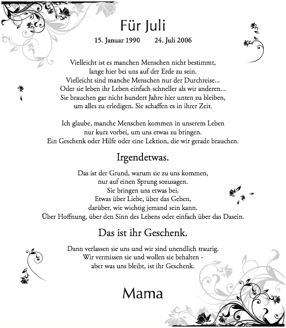 juli gedicht kurz